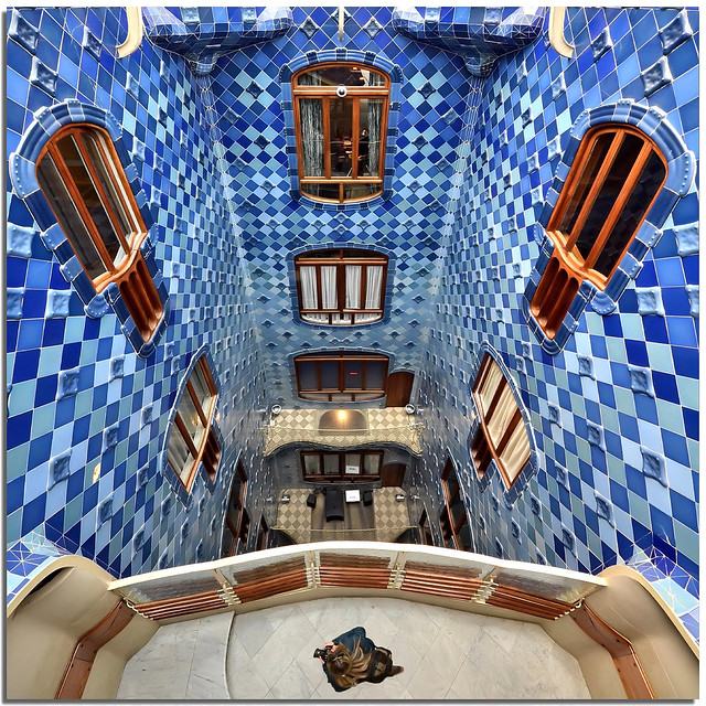 Under my feet in Casa Batllo'