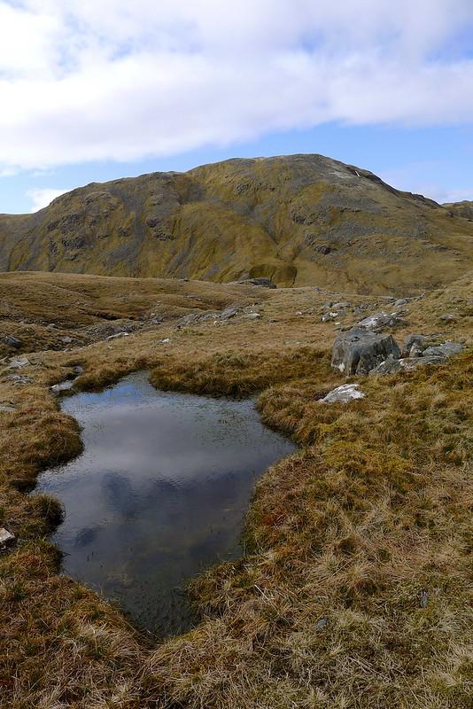 Sgurr na Feartaig from Bealach Bearnais