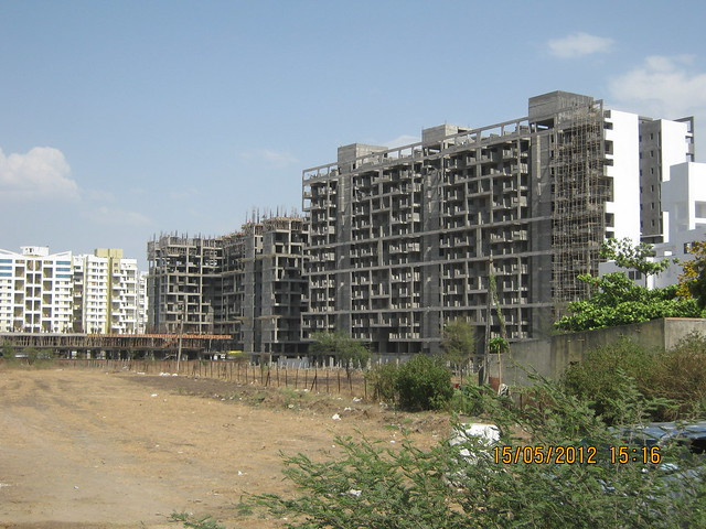 First slab of H G & Ready Structure of A, B, C Buildings of Pristine Prolife Wakad - Visit Monarch Renaissance, 4 BHK 3 BHK & 2 BHK Flats at Wakad, Pune 411057