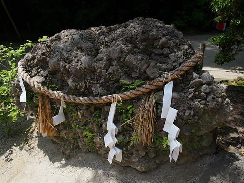 下鴨神社 さざれ石