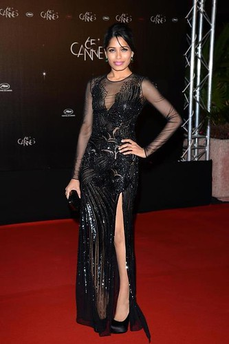 Freida Pinto @ opening night dinner for the 65th Annual Cannes Film Festival 1