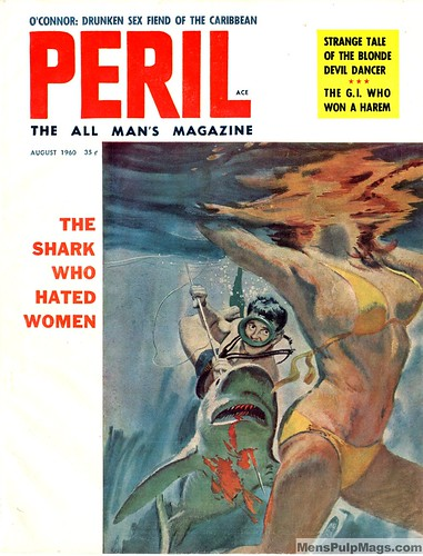 PERIL magazine, August 1960. Artist uncredited