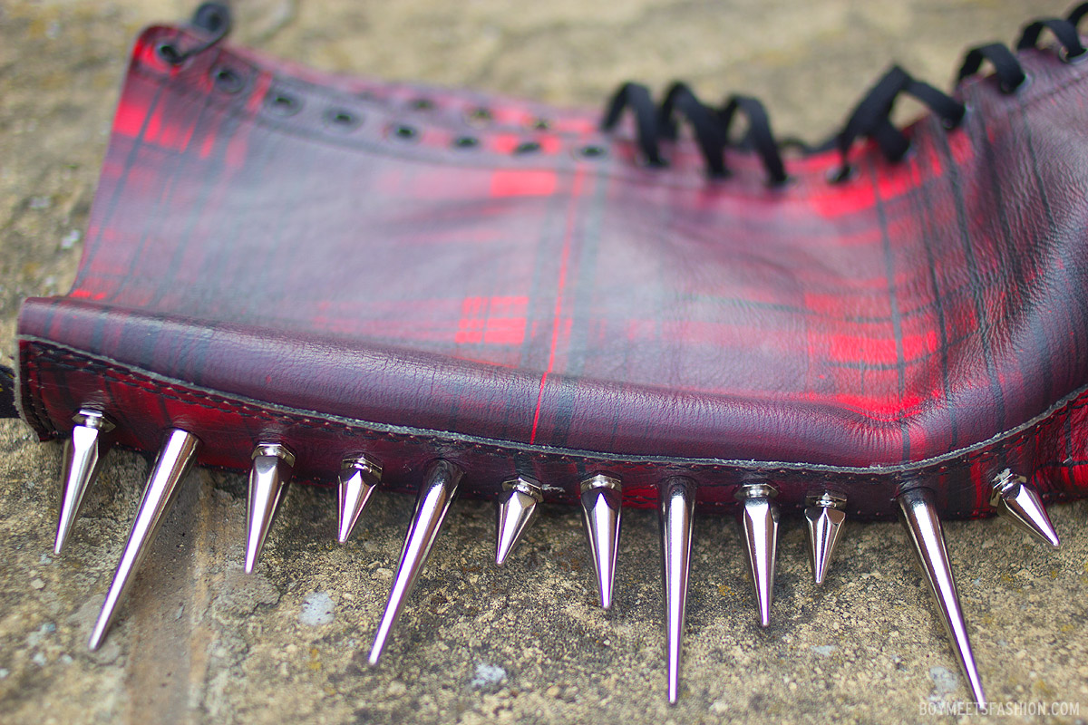 My new spiked boots by The Ragged Priest