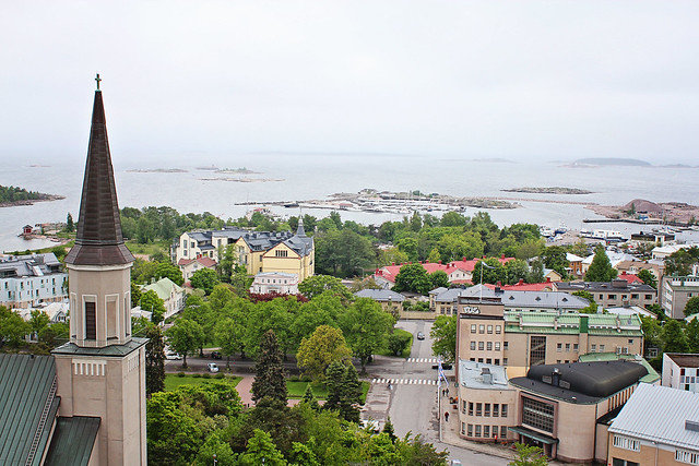 Hanko from tower 2