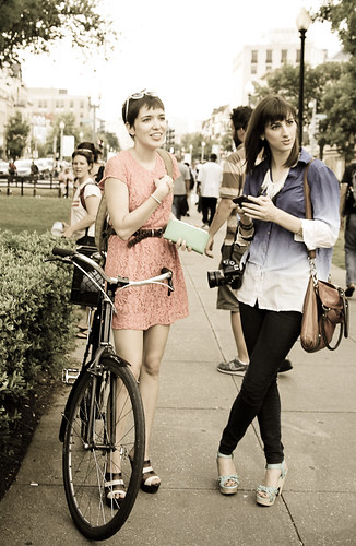 Cute bike, cute girl, cute @GoKateShoot