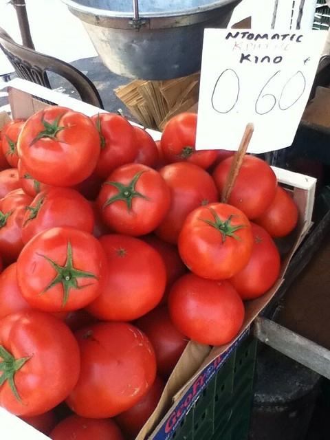 西红柿0.6欧元1千克