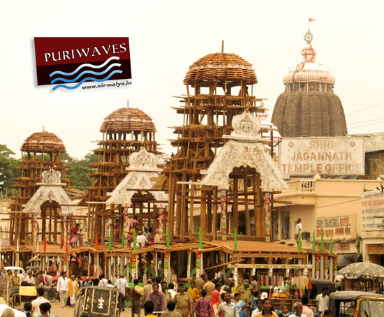 Rathyatra Construction work 2012