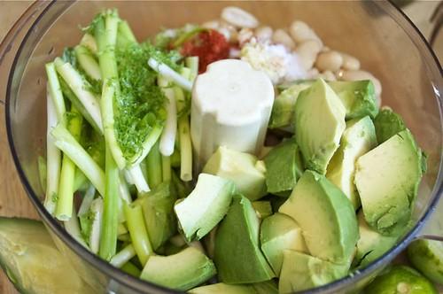 avocado bean dip 4