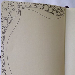 Simple #journal page border