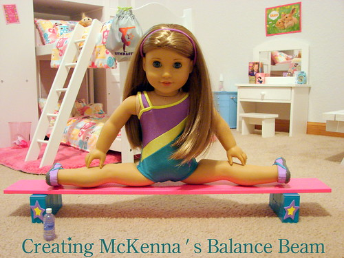 Make McKenna's Balance Beam