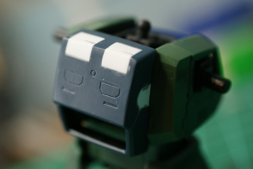 Real Grade 1/144 - MS-05 Zaku I - WiP 8 - Backpack