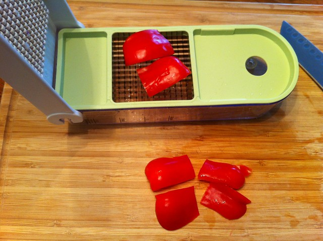 Red Bell Pepper Read to be Diced