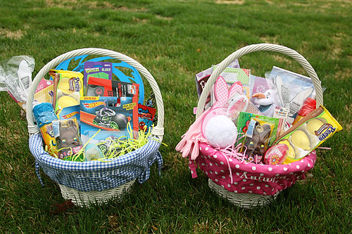 2014 Spring Easter Baskets Easter Basket Blog Hop