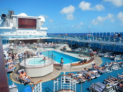 Main pool on Coral Princess