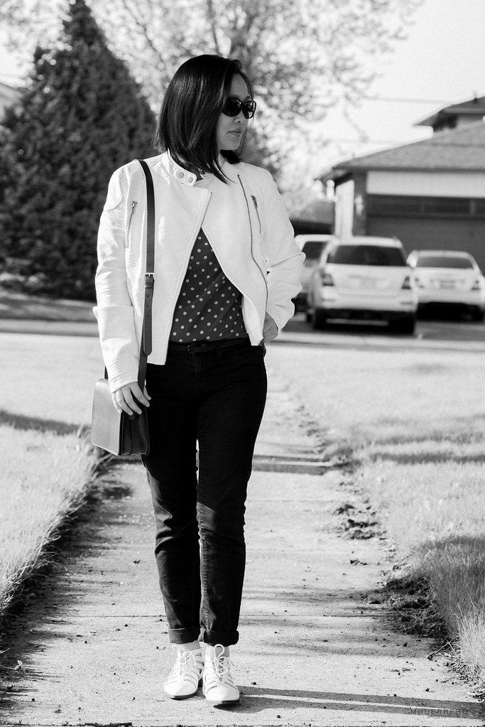 white leather jacket cutout oxfords 02