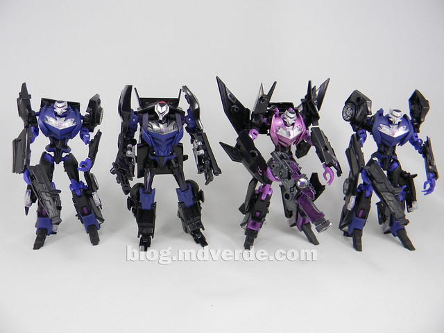 Transformers Vehicon Deluxe - Transformers Prime First Edition - modo robot vs otros Vehicons