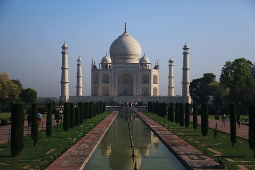 The Taj Mahal, Iconic View