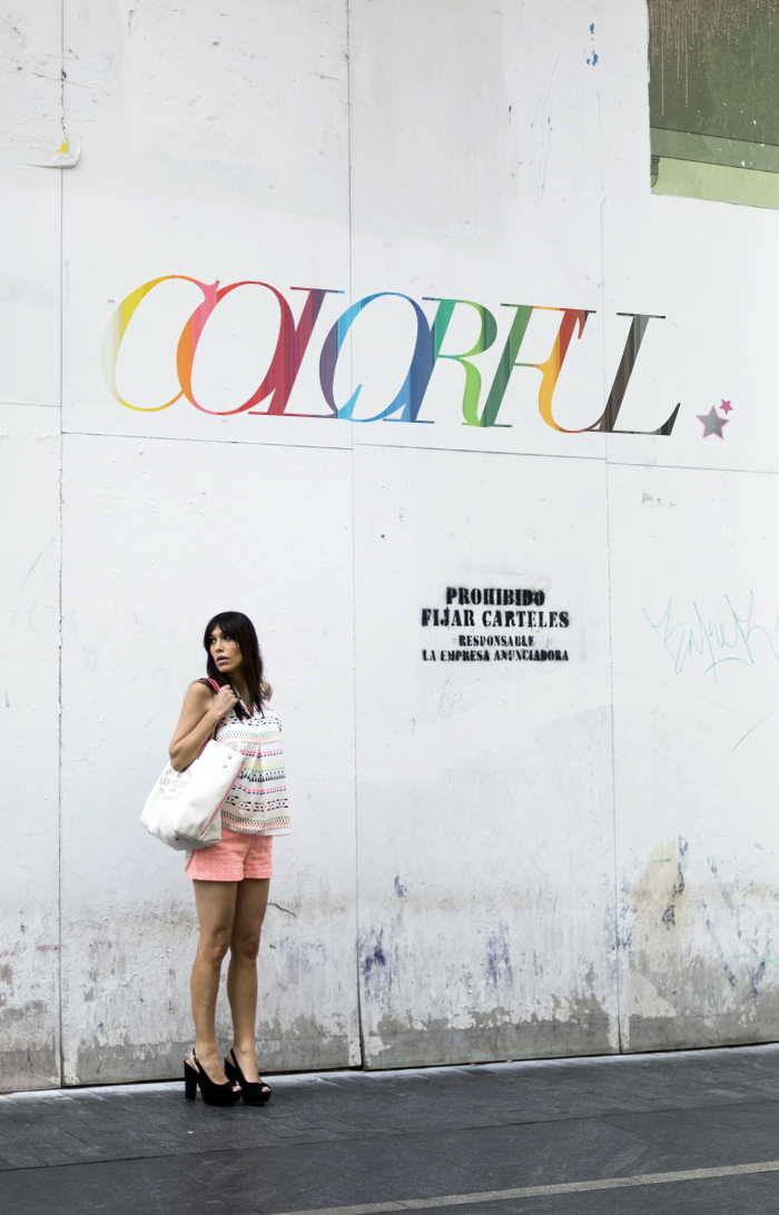 street style barbara crespo colorful beautyque fashion blogger outfit blog de moda