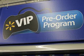 Walmart Pre-Order Program