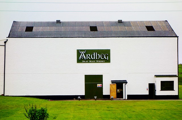 Ardbeg Distillery, Islay, Scotland