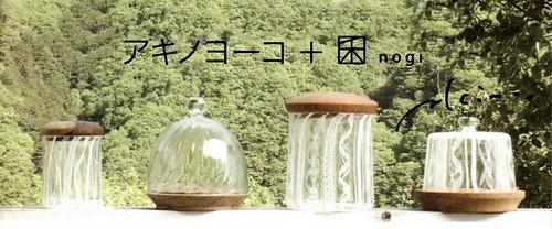 ■アキノヨーコ +  nogi■うつわ・楓