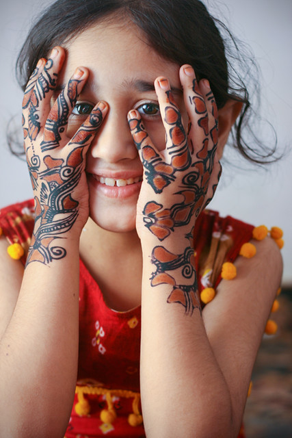 Kids Mehndi Design For Hands