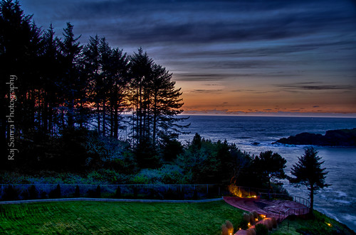 nightphotography sunset oregon landscape nikon oregoncoast westcoast hdr depoebay d7000 whalecoveinn nikond7000 mygearandme picificnorthwest