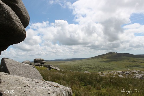 Rough Tor - looking towards Brown Willy, Bodmin Moor, Cornwall by Claire Stocker (Stocker Images)