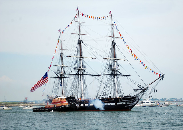USS Constitution by CC user usnavy on Flickr