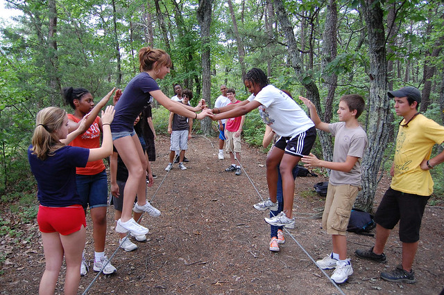 teen outdoor leadership training