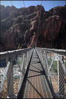 Silver Bridge over the Colorado River, Grand Canyon