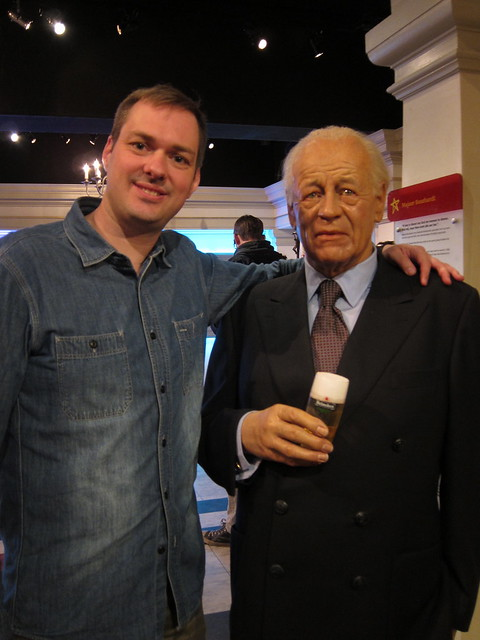 Jeroen with Freddy Heineken