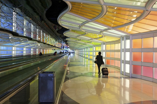 Nick Harris' photo of Chicago O'Hare Airport Concourse.