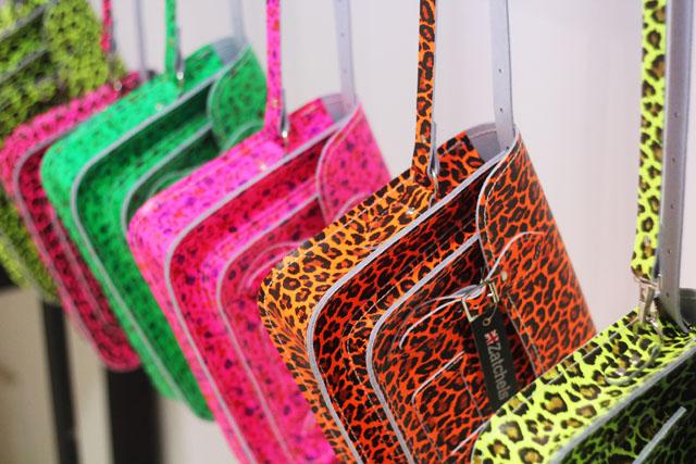 fluorescent zatchels satchel leopard print