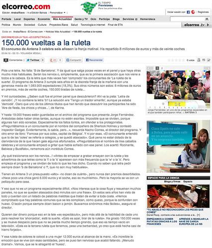 Entrevista Nacho Correa, director de La Ruleta de la Suerte