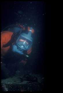 USEPA diver in Full Face Mask