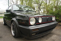 automobile, automotive exterior, volkswagen, vehicle, volkswagen golf mk1, volkswagen golf mk2, compact car, bumper, land vehicle,