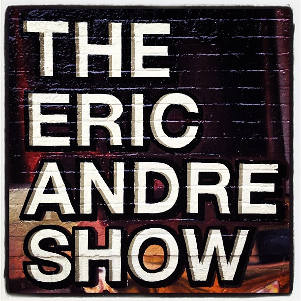 The eric andre show lettering mural onthestreet for Mural lettering