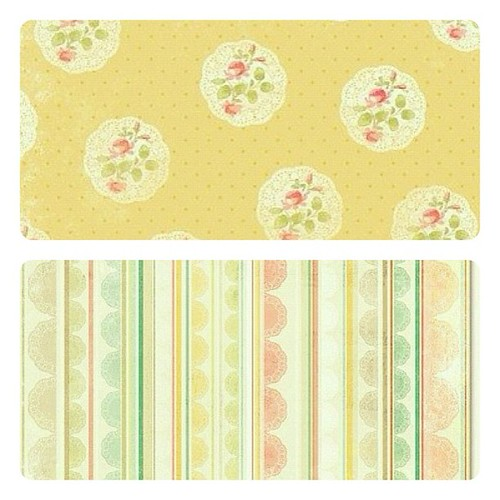 shabby chic paper scrap