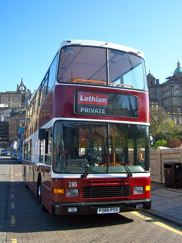 Edinburgh Bus Tours - 285 (P285 PSX)