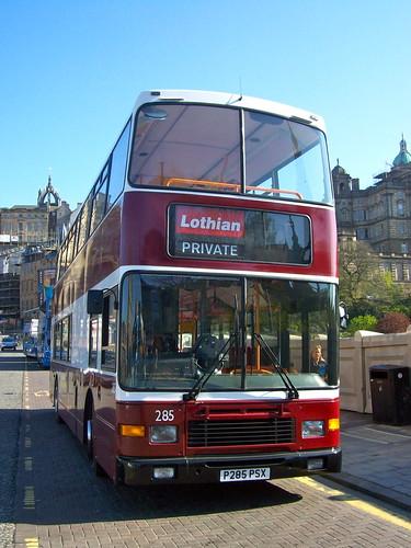 Edinburgh Bus Tours - 285 (P285 PSX)