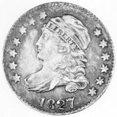 1827 Bust Dime