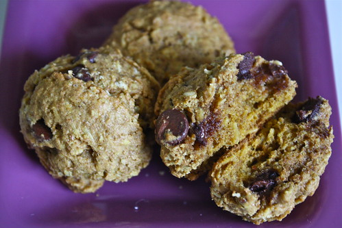 Pumpkin Lactation Cookies