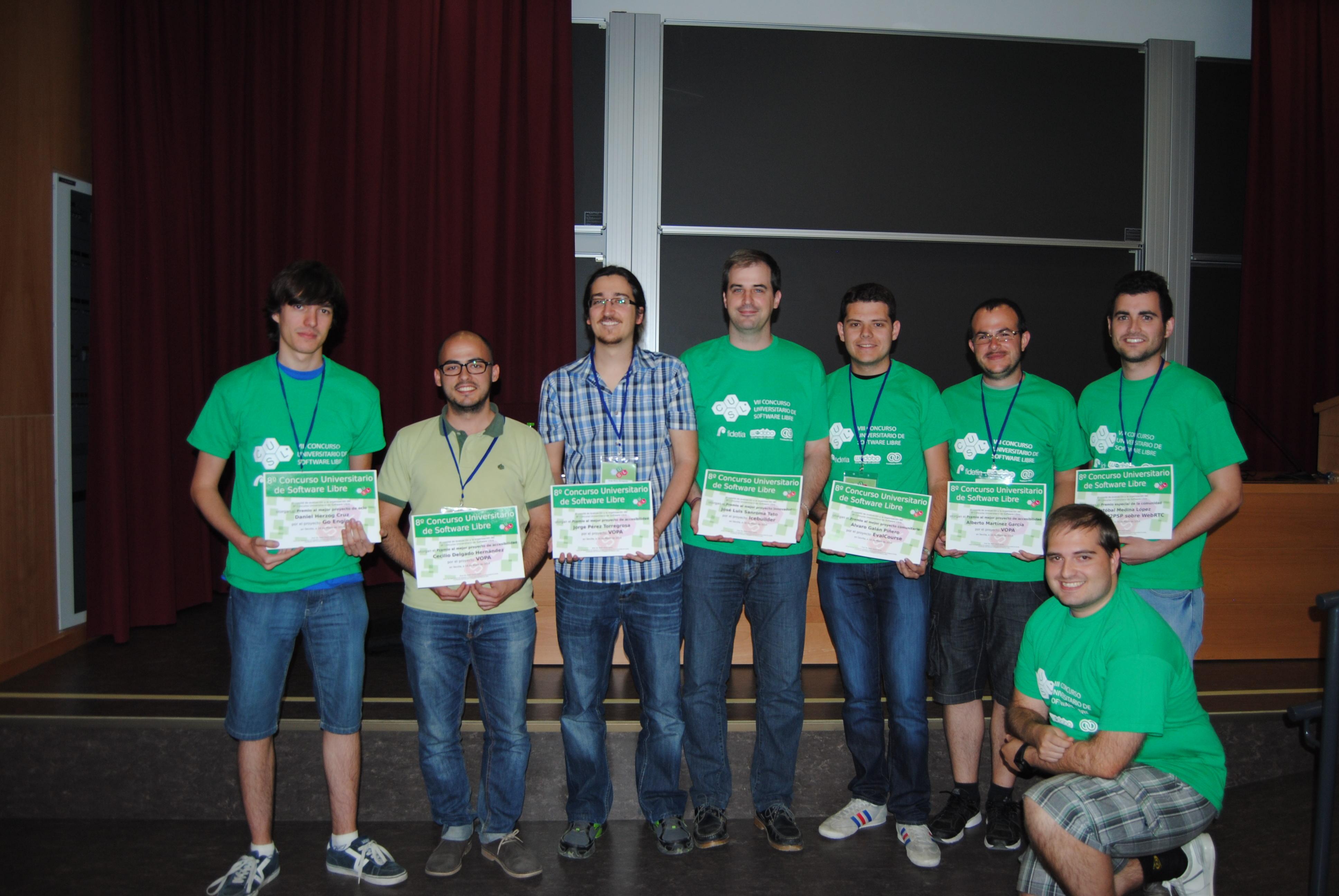 Ganadores del 8º CUSL