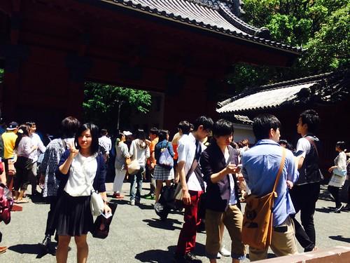 【36-39日目】東大の五月祭へ(神奈川-東京)