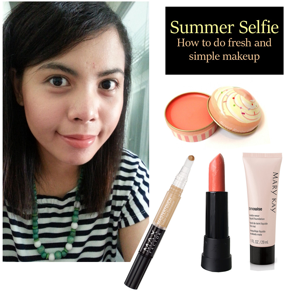 Simple Makeup For Summer In 5 Easy Steps