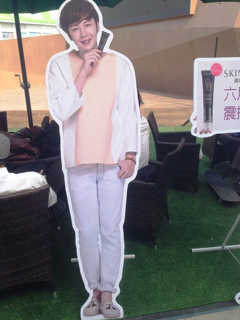[pics] Yalget Exhibition Stands with Jang Keun Suk Images at Shanghai Cosmetic Expo_20140507 14127196475_91c1efa904_z