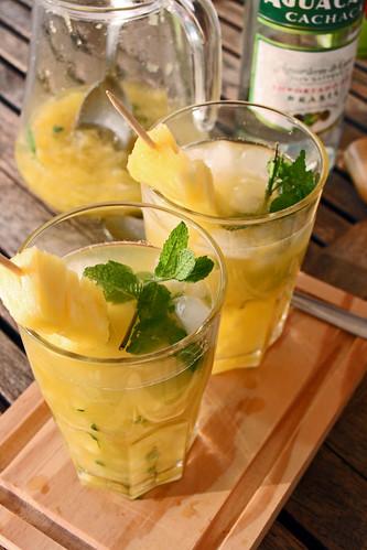 caipirinhas à l'ananas