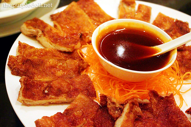Stuffed Crispy Chicken with Sweet and Sour Sauce
