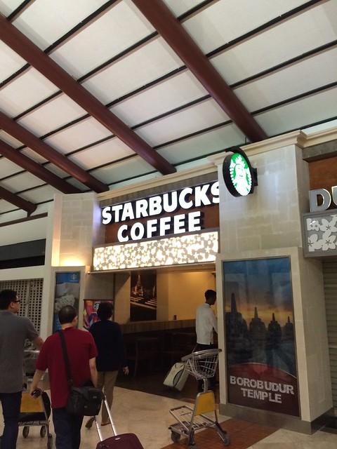 Starbucks Coffee, Soekarno-Hatta Airport